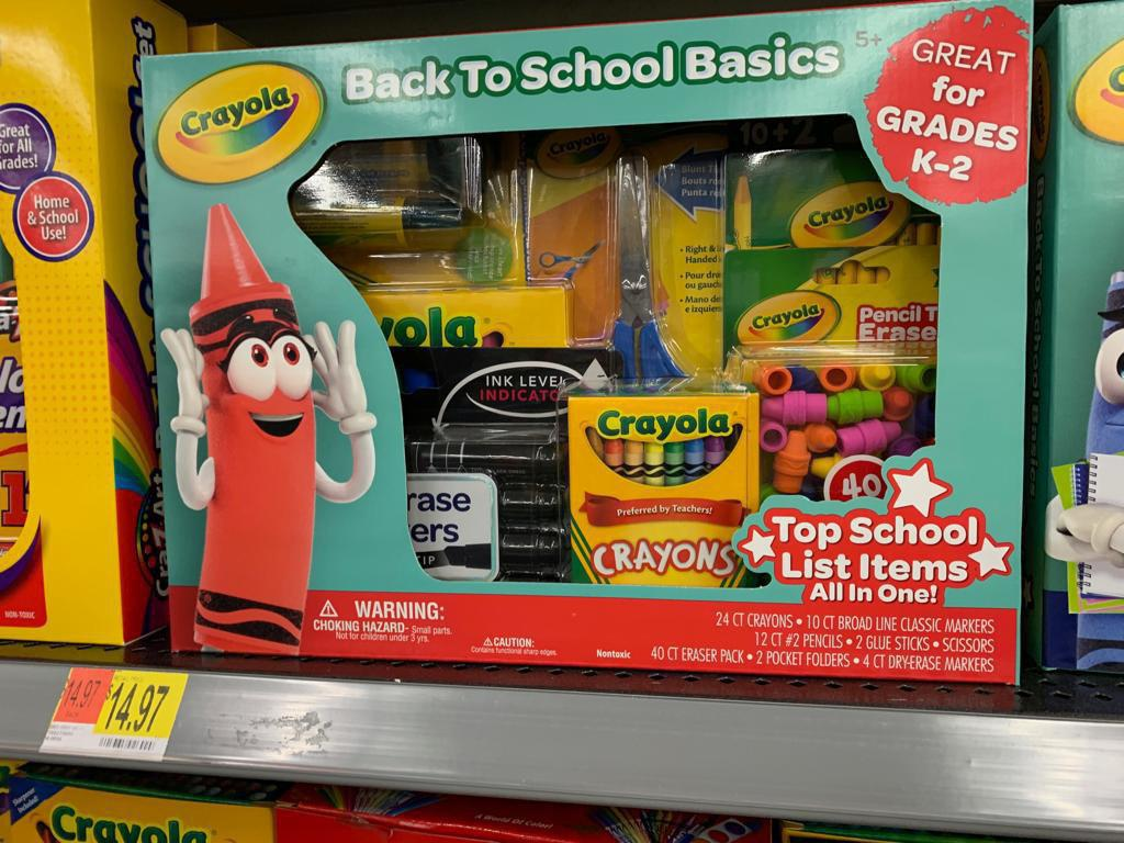 Crayola Back to School Basics