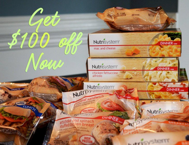 Nutrisystem $100 OFF Coupon
