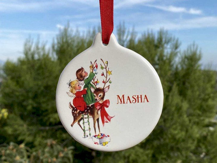 Personalized Christmas Ornaments Discount