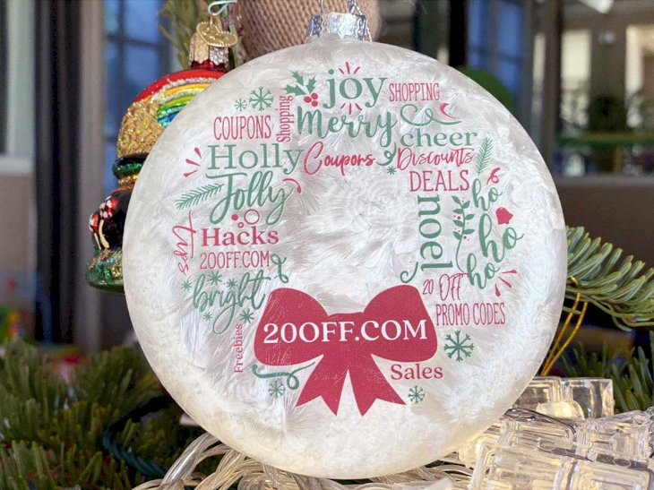 Personalized Christmas Ornaments Promo 2020