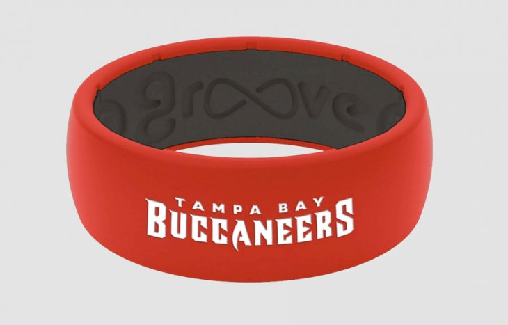 Tampa Bay Buccaneers Groove Life Original Ring