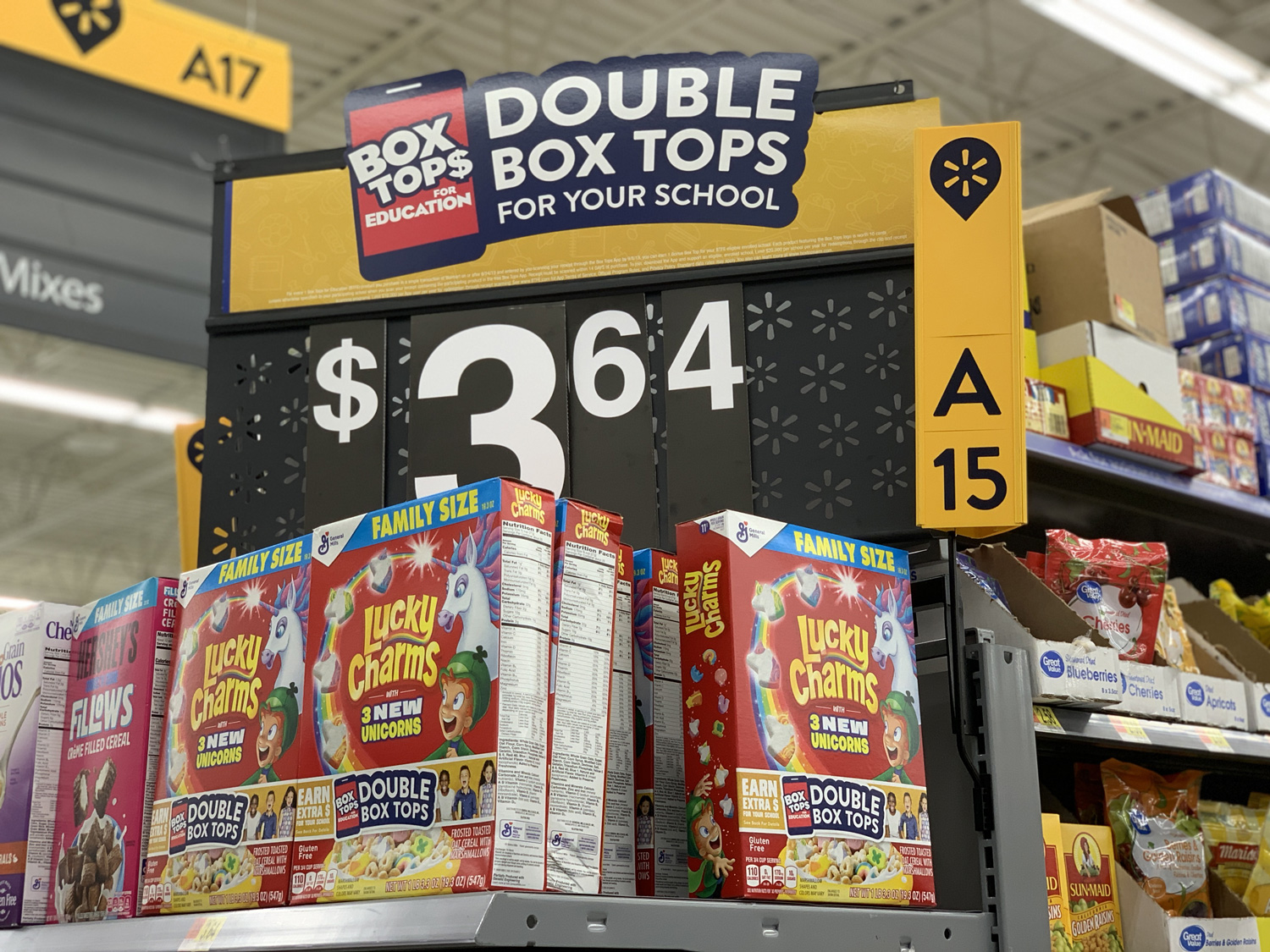 Walmart Double Box Tops